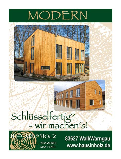 Haus in Holz